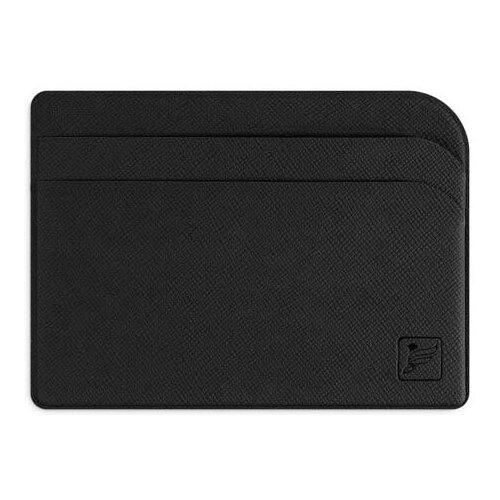 Защитный футляр для карт / Картхолдер / Кредитница чехол / Держатель для кредитных карт / Визитница Flexpocket черная недорого