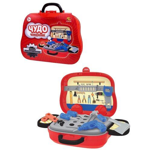 Купить Набор инструментов ABtoys Чудо-чемоданчик на колесиках (PT-01270), Детские наборы инструментов