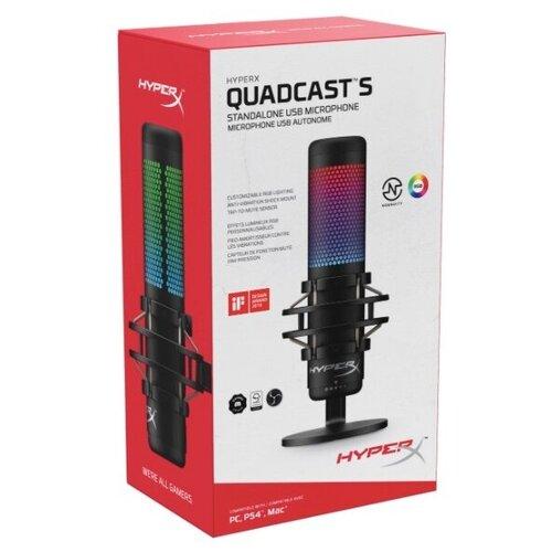 Игровой микрофон для компьютера HyperX QuadCast S