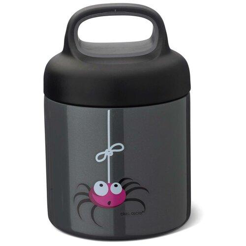 Carl Oscar Термос для еды LunchJar™ Spider 0.3л серый