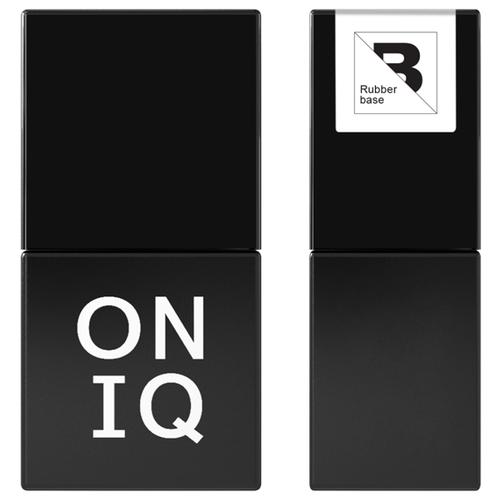 ONIQ базовое покрытие 903 Retouch Rubber base 10 мл прозрачный oniq базовое покрытие grand 900 standart base 30 мл прозрачный