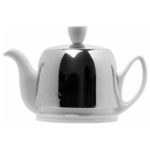 Фото - Чайник заварочный Salam White (0.37 л), с колпаком, с ситечком, на 2 чашки 211987 Guy Degrenne чайник заварочный salam white 0 37 л с колпаком с ситечком на 2 чашки 211987 guy degrenne