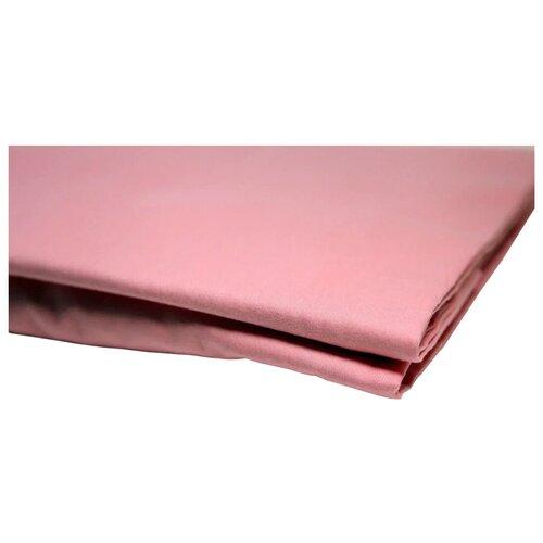 Простыня УЮТНАЯ ИСТОРИЯ сатин на резинке (P16080) розовый