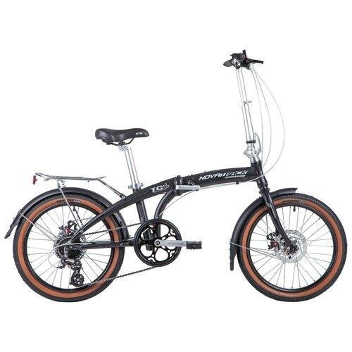 Фото - Подростковый городской велосипед Novatrack TG-20 8 Disc (2020) черный (требует финальной сборки) велосипед haibike affair 8 70 2016