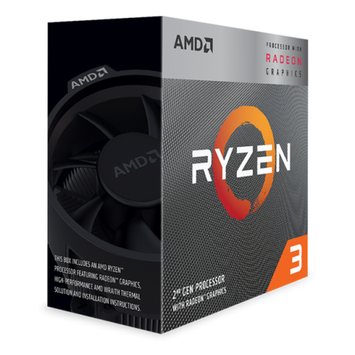 Процессор AMD Ryzen 3 3200G, BOX процессор amd ryzen 3 3200g yd3200c5m4mfh oem