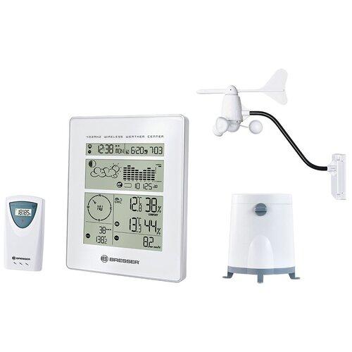 Метеостанция BRESSER метеостанция с радиоуправлением, белый