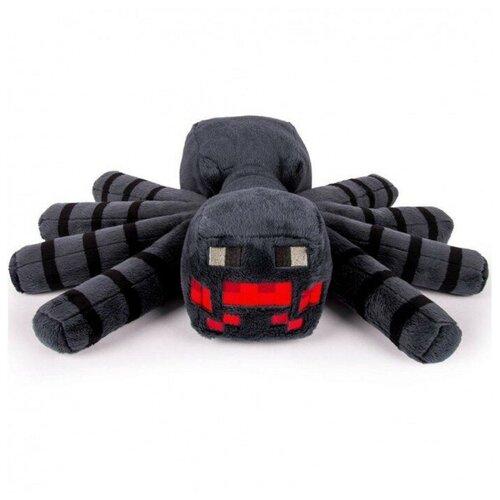 Мягкая игрушка большой плюшевый паук из майнкрафт 30 см