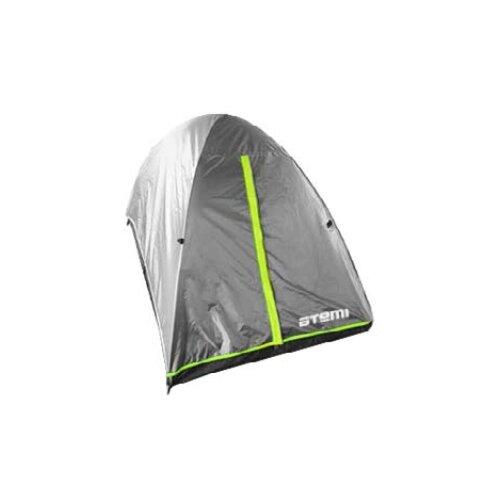 Палатка ATEMI COMPACT 2 CX серый/зеленый недорого