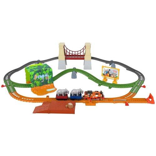 Фото - Fisher-Price Игровой набор Ния и слон, серия TrackMaster, GPD84 игровой набор mattel fisher price доктор ggt61