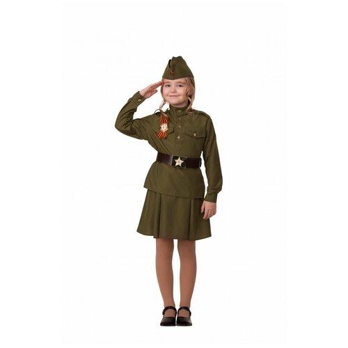 Купить Костюм Солдатка, размер 104 см., Батик, Карнавальные костюмы