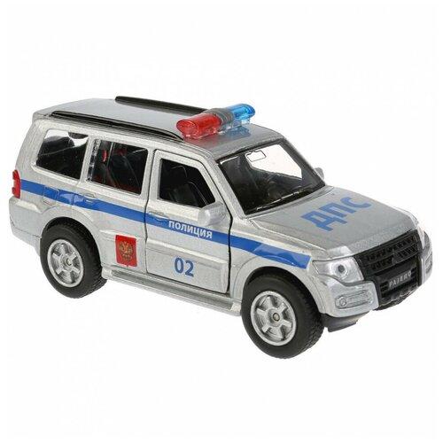 Купить Машина Технопарк Mitsubishi Pajero Полиция инерционная 256374, ТЕХНОПАРК, Машинки и техника