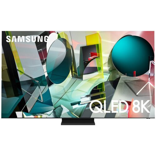 Фото - Телевизор QLED Samsung QE75Q900TSU 75 (2020), нержавеющая сталь телевизор samsung 24 lt24h395sixxru