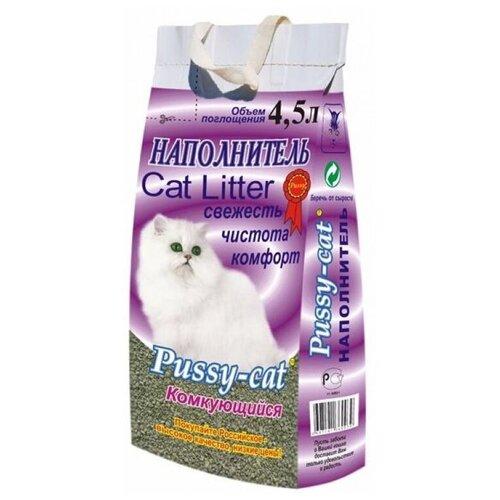 Комкующийся наполнитель Pussy-Cat 4.5 л pussy cat