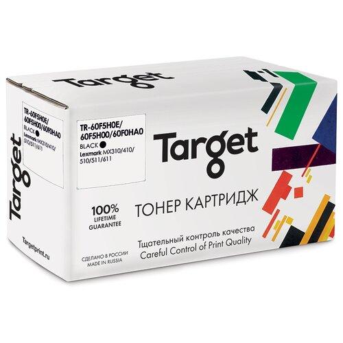 Фото - Тонер-картридж Target 60F5H0E/60F5H00/60F0HA0, черный, для лазерного принтера, совместимый тонер картридж target 051h черный для лазерного принтера совместимый