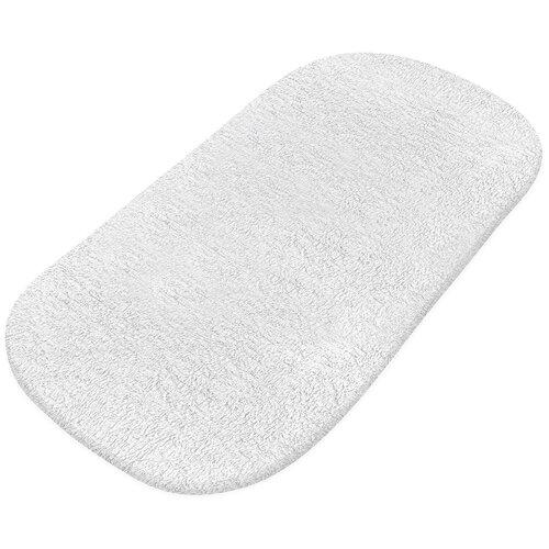 Наматрасник Simplicity Махровый натяжной, водонепроницаемый, 41х80 см белый