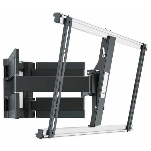 Фото - THIN 550 Ультратонкий наклонно-поворотный кронштейн для ультра тяжелых телевизоров размера 40-100, макс. 70кг (VESA 600x400), черный кронштейн для телевизоров vogel s thin 425 черный