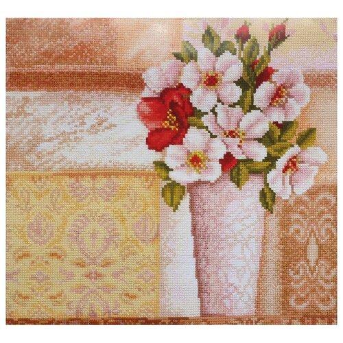 Сделай своими руками Набор для вышивания Винтажный букет 26 х 27 см