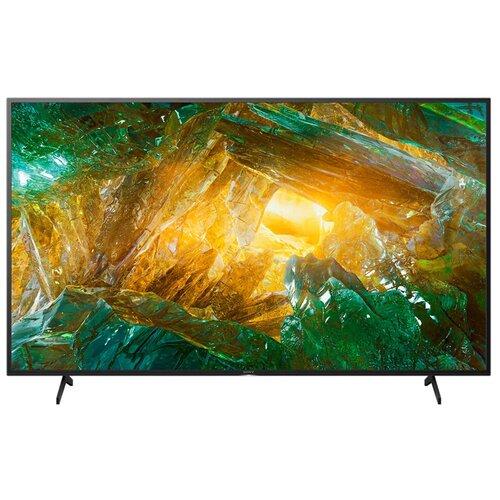 Фото - Телевизор Sony KD-43XH8005 42.5 (2020), черный тв стеллаж manhattan home city 1 2 white gloss pa26452 241 52