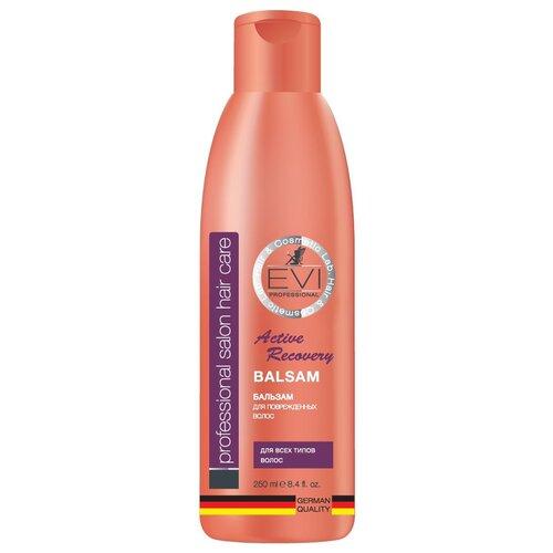 Купить EVI professional Бальзам-ополаскиватель Активное восстановление для поврежденных волос, 250 мл