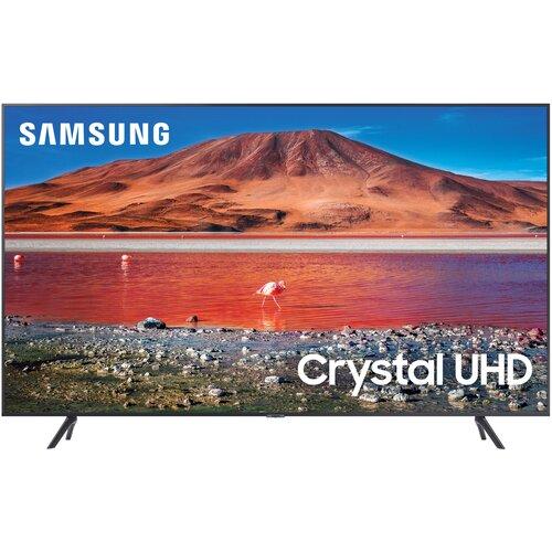 Фото - Телевизор Samsung UE65TU7090U 65 (2020), черный/серебристый телевизор samsung ue65ru7300uxru серебристый