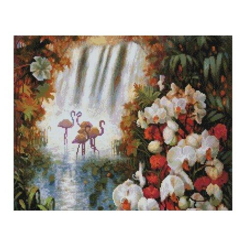 Мозаичная картинаРайский сад