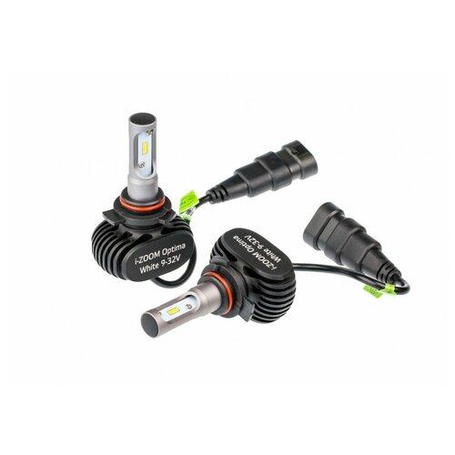 Лампа автомобильная светодиодная Optima i-ZOOM i-HIR2 HIR2 9-32V 19.2W 2 шт.