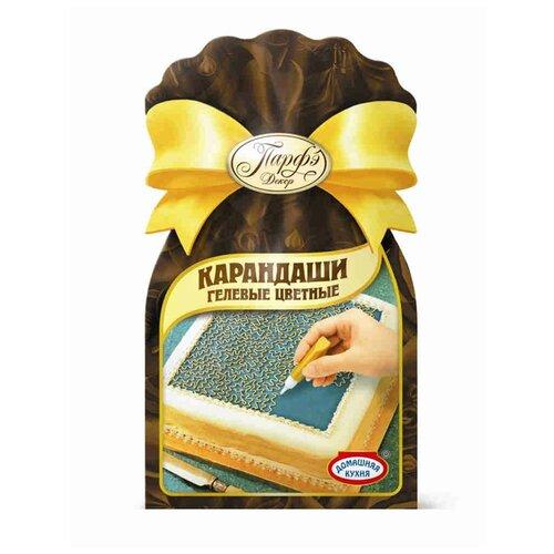 Топ Продукт Декор кондитерский карандаши гелевые цветные 64 г красный