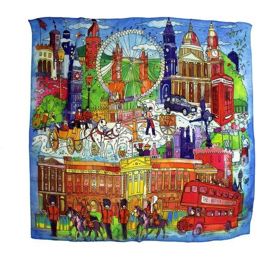 Сезонный платок с арт-принтом Оланж Ассорти