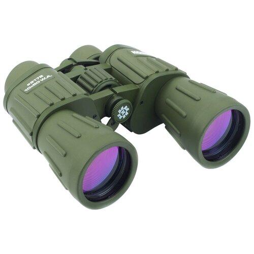 Фото - Бинокль KONUS Konusarmy 10x50 WA зеленый t2 кольцо konus для камер с резьбовым соединением м42х1