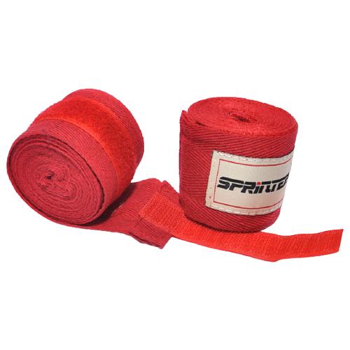 Бинты боксёрские. Материал: хлопок, нейлон. Цвет красный. Длина 3 м. Производство: Китай, BD-K3