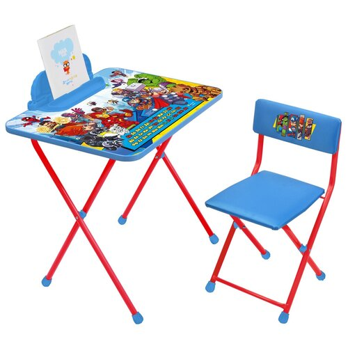 Комплект складной детской мебели Disney. Marvel 2, возраст 3-7 лет,