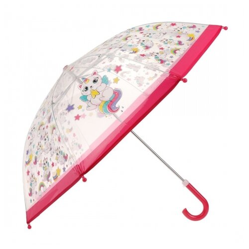 Зонт детский Кэттикорн прозрачный, 48 см