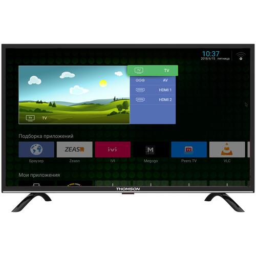 Фото - Телевизор Thomson T43FSL5130 43 (2018), черный телевизор thomson t24rte1020