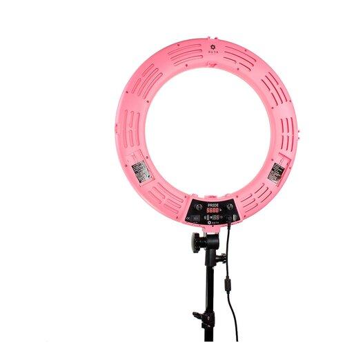 Фото - Лампа кольцевая Aura Helle Pride Pink кольцевая лампа luazon aks 06 white 4090260