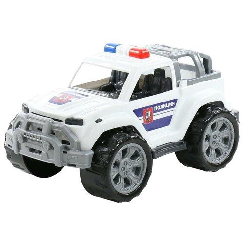 Купить Легковой автомобиль Полесье Легион патрульный №2 (76083), белый, Машинки и техника