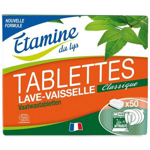 Фото - Таблетки для посудомоечной машины ETAMINE DU LYS таблетки, 50 шт. margaret roberts miss jean s niece by the author of l atelier du lys