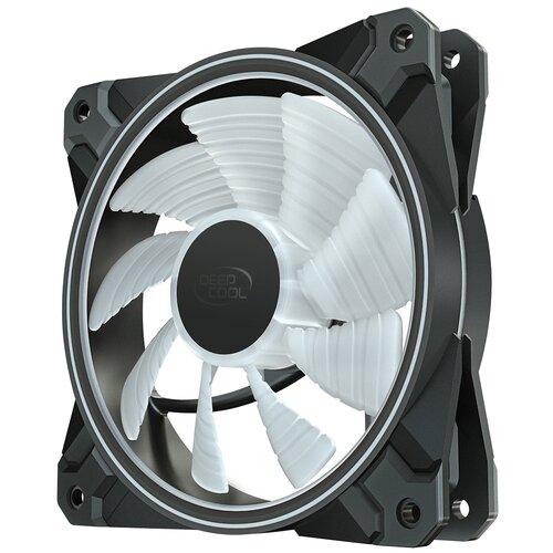 Вентилятор для корпуса Deepcool CF120 PLUS черный/бесцветный 3 шт.