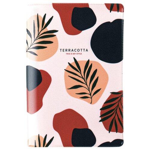 Обложка для паспорта MESHU Terracotta, бежевый/коричневый