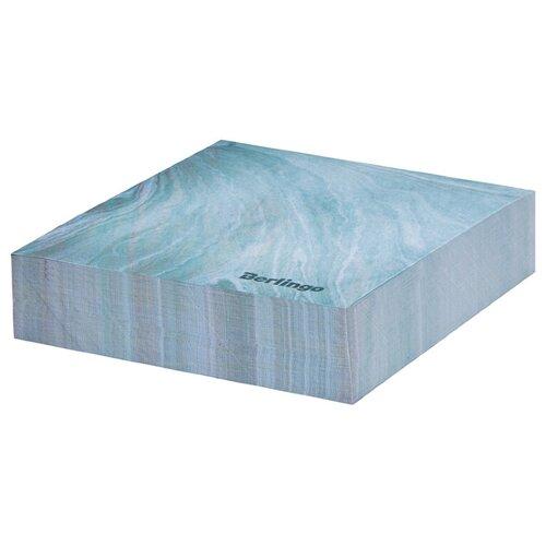 Купить Berlingo Блок для записи декоративный на склейке Fantasy, 85 х 85 мм, 200 листов голубой, Бумага для заметок