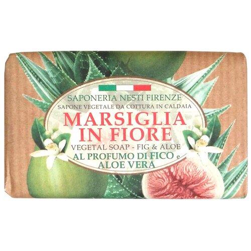 Мыло кусковое Nesti Dante Marsiglia in fiore Fig and Aloe, 125 г недорого
