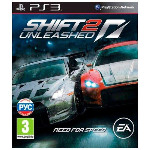 Игра для PlayStation 3 Need For Speed Shift 2: Unleashed, русские субтитры