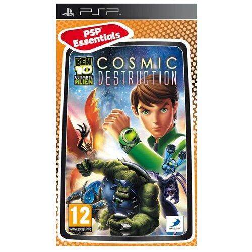 Игра для PlayStation Portable Ben 10: Ultimate Alien Cosmic Destruction, английский язык недорого