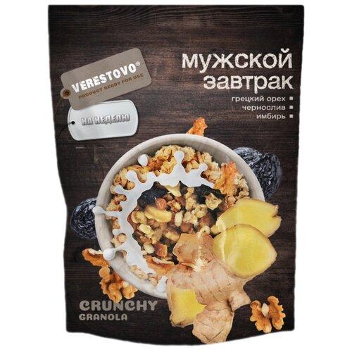 Гранола Verestovo грецкий орех, чернослив и имбирь дой-пак, 300 г