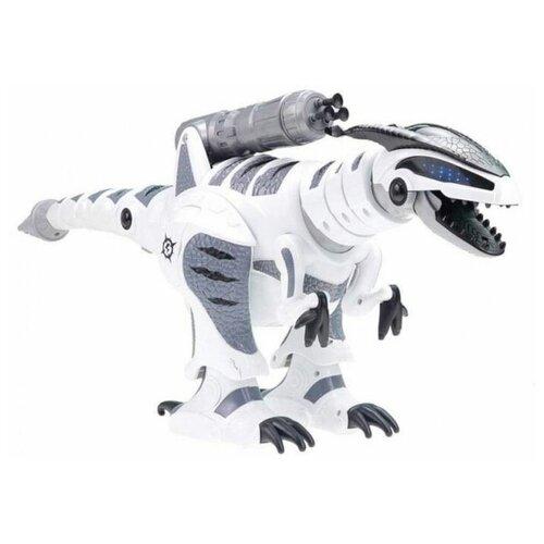 Робот Zhorya Пультовод динозавр Тирекс ZYB-B285 белый/серый
