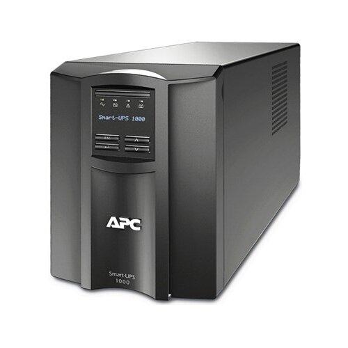 Источник бесперебойн APC Smart-UPS SMT1000I 700Вт 1000ВА черный