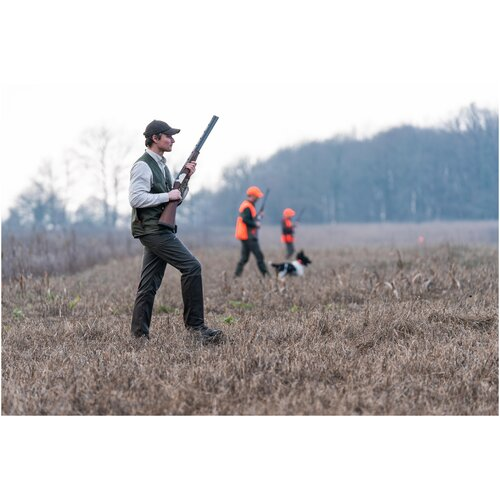 Рубашка муж. для охоты с длинными рукавами 100 бежевая, размер: XXL, цвет: Беж SOLOGNAC Х Декатлон