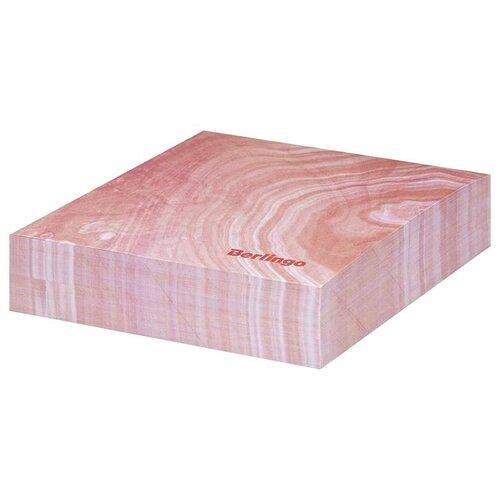 Купить Berlingo Блок для записи декоративный на склейке Fantasy, 85 х 85 мм, 200 листов розовый, Бумага для заметок