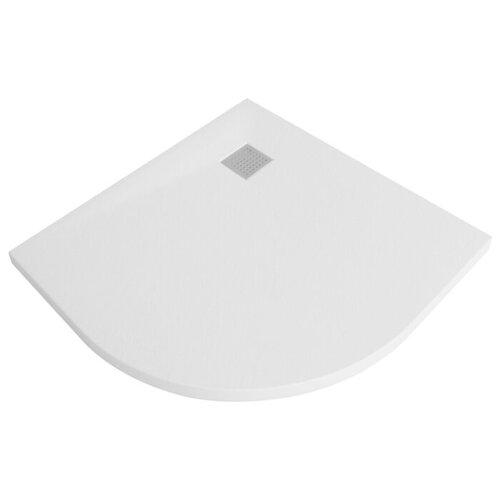 Душевой поддон WasserKRAFT Leine 35T01 90 x 90 белый слив недорого