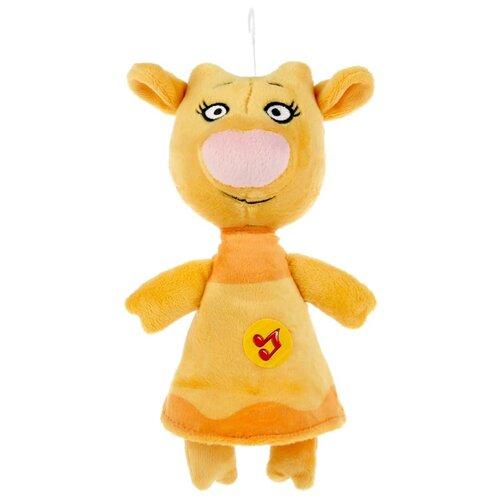 Купить Игрушка мягкая Мульти-пульти Оранжевая корова , Зо, 21 см, музыкальный чип (V92729-21), Мульти-Пульти, Мягкие игрушки
