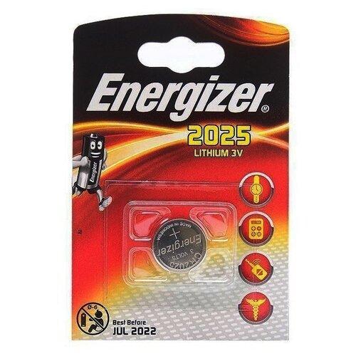 Фото - Батарейка Energizer CR2025, 1 шт., 10 уп. батарейка energizer max plus aa 4 шт